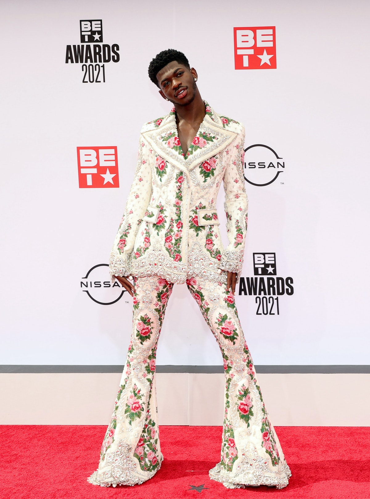 Lil Nas X at the 2021 BET Awards