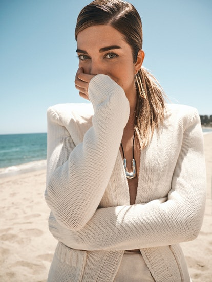 Annie Murphy appears in a photo shoot as TZR's June 2021 cover star.