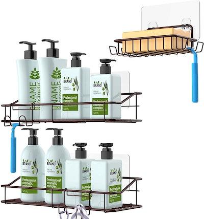 Niefi Shower Caddy Basket (3-Pack)
