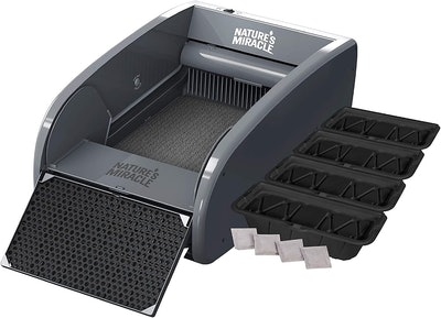 Nature's Miracle Large/X-Large Multi-Cat Self-Cleaning Litter Box