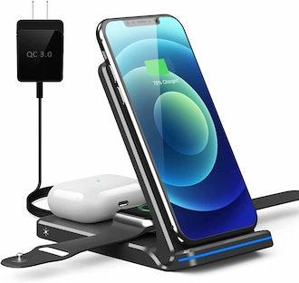 Pendrajec Foldable Wireless Charging Station
