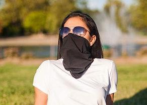 Bay Laurel 100% Cotton Dust Neck Gaiter