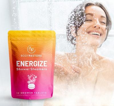 BodyRestore Energize Shower Steamers (12-Pack)
