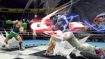 smash ultimate kazuya little mac
