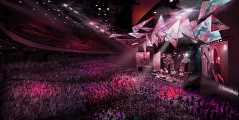 """YouTube is opening """"YouTube Theater,"""" a 6,000-seat concert venue in Inglewood, California."""