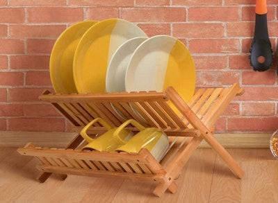 Bambusi Bamboo Dish Drying Rack