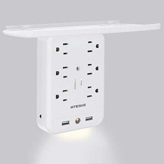 WTESKE Outlet Socket Wall Shelf