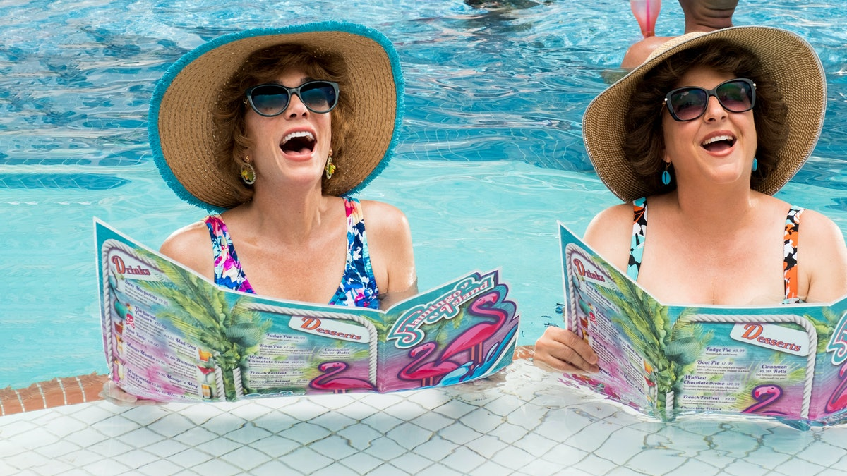 Kristen Wiig and Annie Mumolo star in the must-watch summer comedy Barb and Star Go To Vista Del Mar...