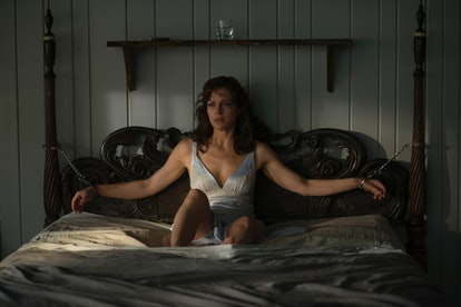 Carla Gugino appears in a scene from Stephen King's 'Gerald's Game,' via the Netflix press site.