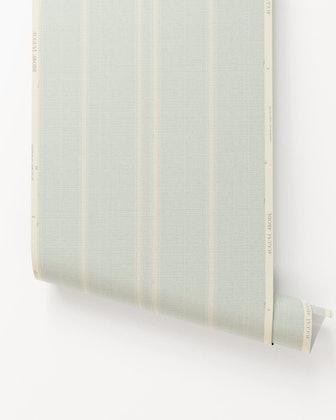 Toluca Stripe II Grasscloth Wallpaper