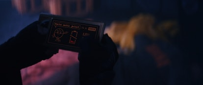 Miss Minutes made a small cameo appearance in Episode 3 of 'Loki.' Screenshot via Disney+