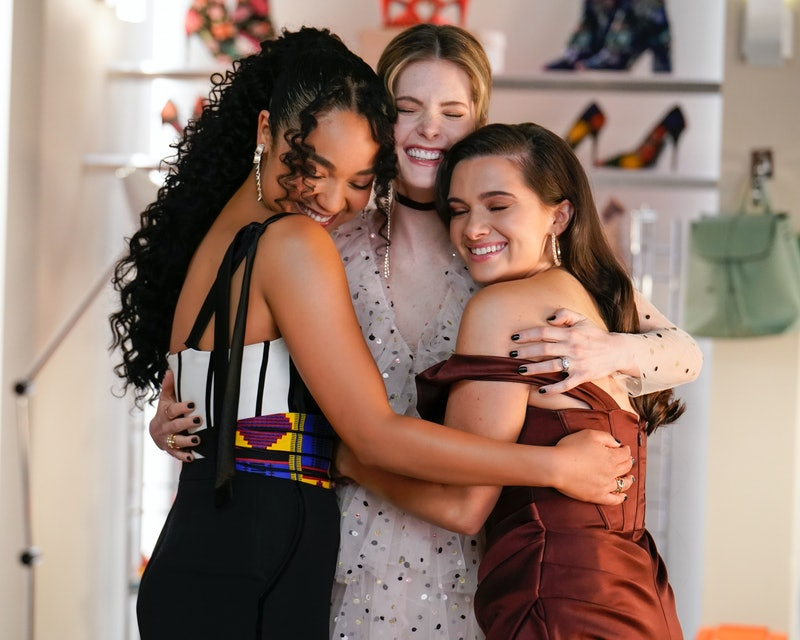 'The Bold Type' costume designer Mandi Line reveals how each character's wardrobe evolved over the series and especially during Season 5.