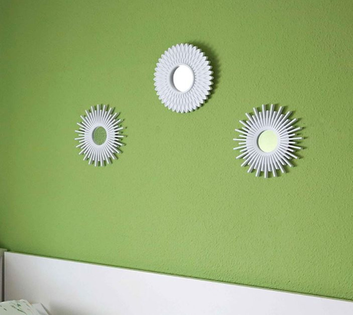BONNYCO Decor Wall Mirrors (Pack of 3)