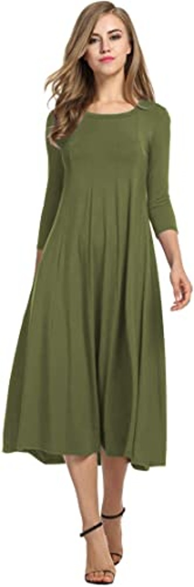 Hotouch A-line & Flare Long Dress