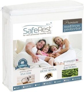SafeRest Hypoallergenic and Waterproof Mattress Protector