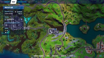 fortnite doomsday guide location map