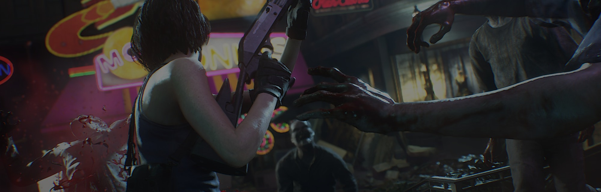 A screenshot from Resident Evil 3