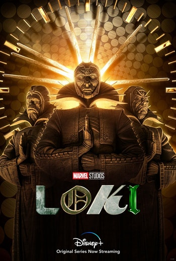 loki time keepers poster