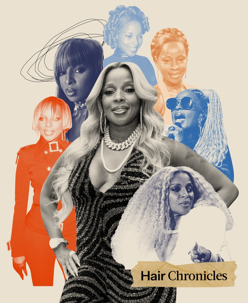 Mary J. Blige chats about her favorite hairstyles that she's worn throughout the years.