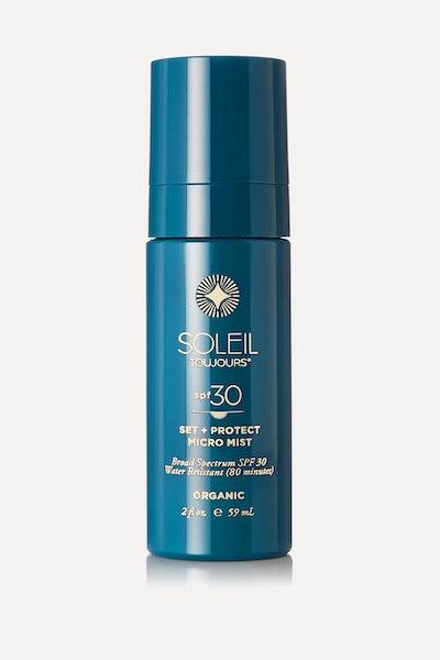 Soleil Toujours + Net Sustain spf30 Organic Set + Protect Micro Mist,