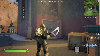 fortnite doomsday guide location garage