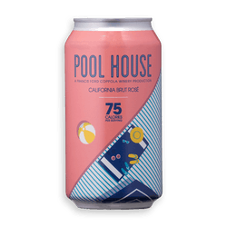 Pool House Brut Rosé Can