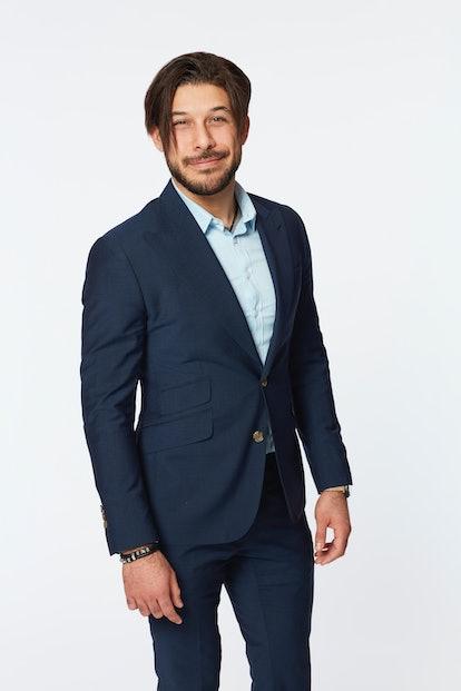 Bachelorette contestant Brandon Torres and his wonderful hair.