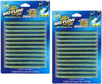 Green Gobbler BIO-FLOW Drain Strips (24-Pack)