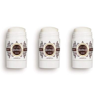 Lavanilla Pure Vanilla Mini Deodorant (3-Pack)