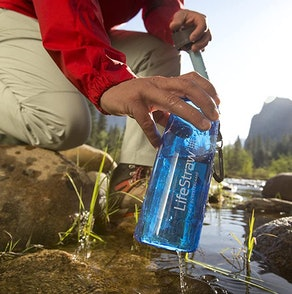 LifeStraw Go 22-Ounce Water Filter Bottle