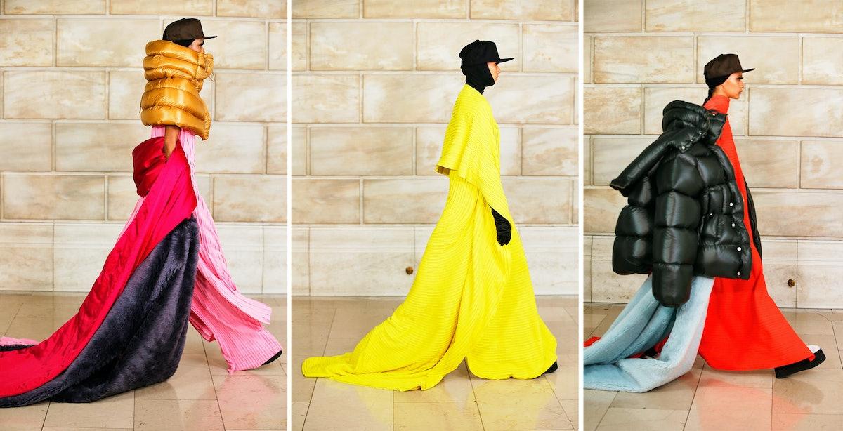 Three Marc Jacobs fall 2021 models