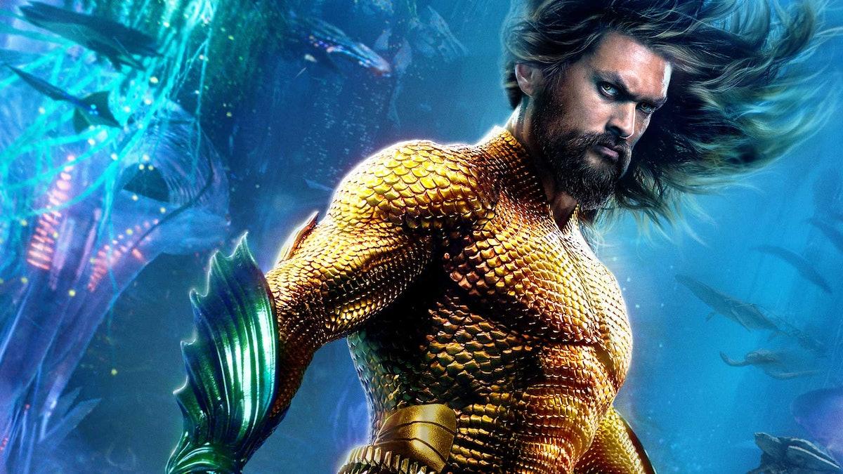 Jason Momoa as Arthur Curry aka Aquaman in 'Aquaman'