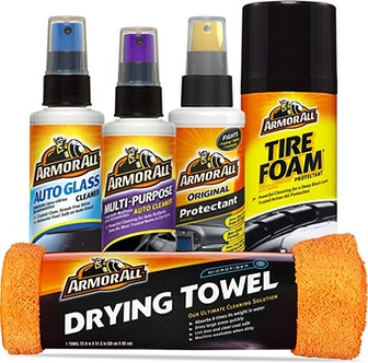 Armor All Car Wash and Interior Cleaner Kit (5 Pieces)