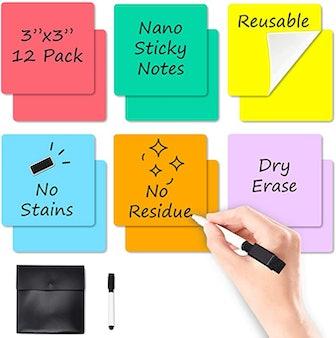JJPRO Dry Erase Sticky Notes (6-Pack)