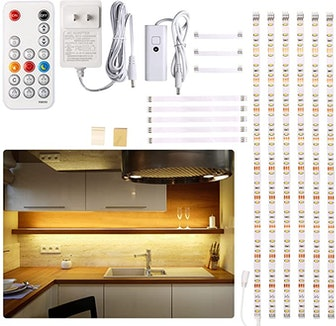 WOBANE Under-Cabinet LED Lighting Kit (6 Pieces)