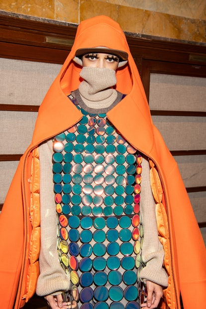 A Marc Jacobs fall 2021 model