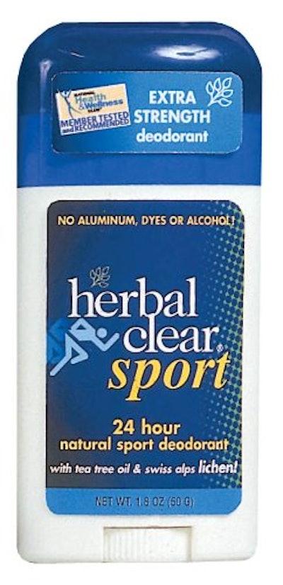 Herbal Clear Sport Natural Sport Deodorant (3-Pack)