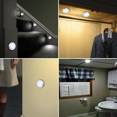 AMIR Motion Sensor Lights (Set of 6)