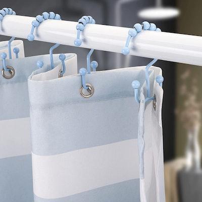 Titanker Shower Curtain Hooks (12 Pack)
