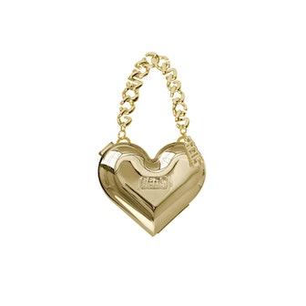 GCDS Heart Gold Bag