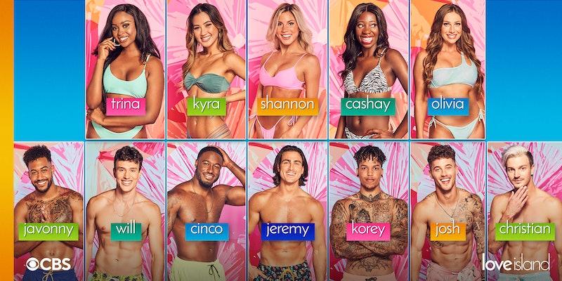 Meet the first 12 contestants of 'Love Island' US Season 3. Photo via CBS