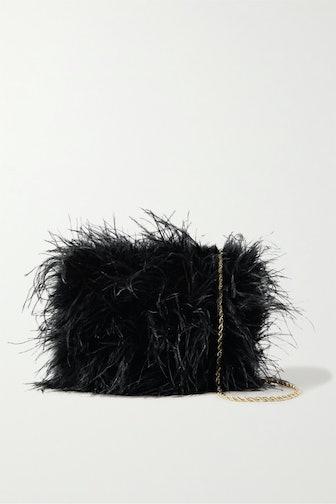 Zelda Feather Shoulder Bag