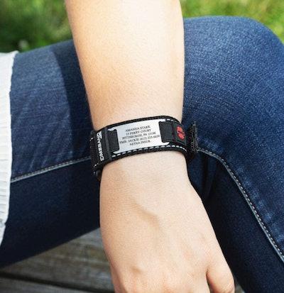 Gone For a Run Personalized Identification Bracelet