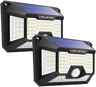LECLSTAR Solar-Powered Motion-Sensor Lights (2-Pack)