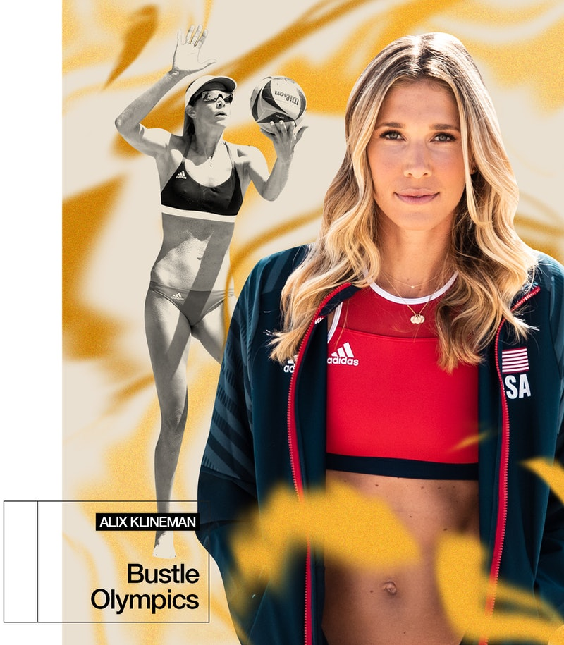 Beach volleyball player Alix Klineman is headed to the 2021 Olympics.