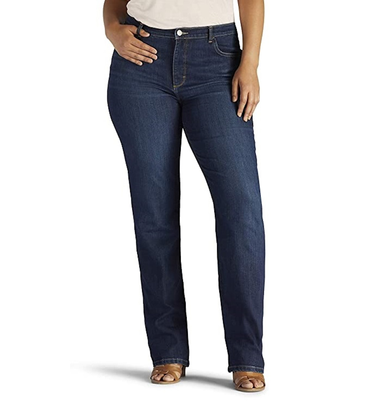 Lee Classic Relaxed-Fit Monroe Straight-Leg Jean