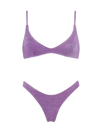 Maia Violet Sparkle Bikini