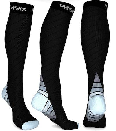 Physix Gear Sport Compression Socks (1 Pair)