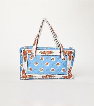 ADIANA Pompadour Blue Handbag