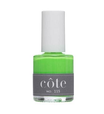 No. 115 Neon Green Nail Polish